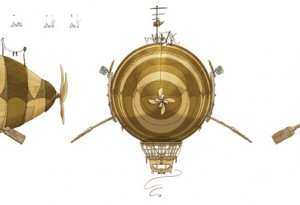 Set Prop - Royal Airship