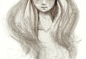 Pencil Sketch of a girl