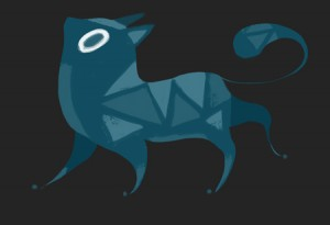 Stylized Cat Design